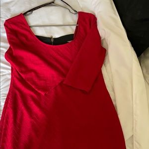 Red holiday dress!❤️